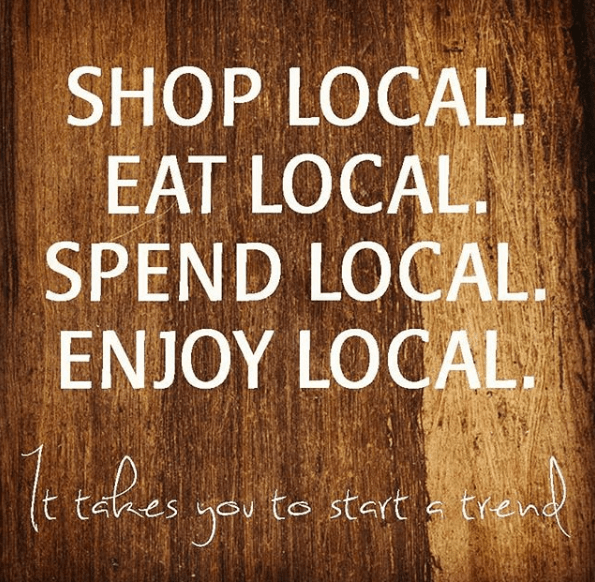 community leadership - shop local